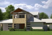 Exterior Visualization of a Residence under Renovation / Exterior Visualization of a Residence under Renovation
