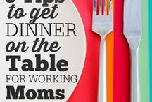 Family Dinner Ideas / Quick and easy dinner ideas that kids will actually eat. Inspiration to end short order cooking and bring the family meal back.