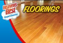 Flooring / Our Hardwood Floor Cleaner is a unique product formulated to clean, condition, and protect all types of hardwood and laminate floors. This will extend the life and improve the appearance of your wood floors. When you have Heaven's Best clean your floors, they'll be free of the dirt, grime, and scuff marks and will look like new.  Visit our website for more information. http://amesia.heavensbest.com