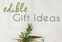 edible gifts / Give the gift of your time in the form of a loving, edible gift.