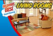 Living Rooms / Let Heaven's Best give new life to your furniture. Like the flooring in your home or business, your upholstery will last longer when it's professionally cleaned more often. Our exclusive cleaning solution and powerful cleaning system gently restores your furniture to a beautiful look and feel you may have not thought possible. The dirt, dust, crumbs, and other debris will be pulled out, leaving a clean, renewed surface. Give us a call today. You will be glad you did. 515-233-9940