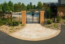 Our Walkway and Driveway Work / Transform your property with a custom walkway or driveway.