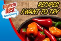 Recipes to Try / If you love to cook do it and let Heaven's Best come in and take care of some of that deep cleaning. We can clean carpets, wood floors, area rugs, tile and grout, leather furniture and much more. Give us a call today, you will be glad you did.