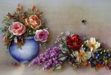 Inspiration / Ribbon Embroidery & Stumpwork