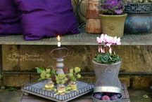 Home Design & Decor: Garden & Patio Decor / Inspiration/ Dream Home Board: Design, Beauty & Creativity Somewhere to GROW... / by Erica Mercurio