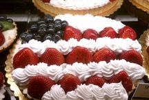4th of July / Red... White...& Blue  Sunshine Cookouts & Fireworks  / by Erica Mercurio