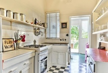Kitchen & beyond / interior design for cooking and lingering / by TheGiddyAunt