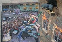 3D Street Art / by Heather Denise