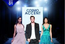 Cosmo Accent- ShopClues Fashion Week Day 1 / One of its kind Online Fashion Week on ShopClues showcasing a range of apparel, footwear and accessories based on seven themes.