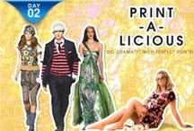 Print-a-licious - ShopClues Fashion Week Day 2 / ShopClues Fashion Week Showcases - The Dram in Prints with its Print-a-licious Collection for Men and Women in affordable price range.