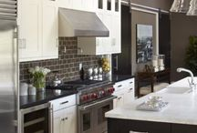 Home Design & Decor: Kitchen Decor / Inspiration/ Dream Home Board: Design, Beauty & Creativity Somewhere to WINE & DINE.... / by Erica Mercurio