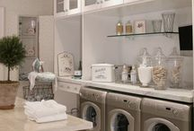 Home Design & Decor: Laundry Room / Inspiration/ Dream Home Board: Design, Beauty & Creativity Somewhere to CLEAN... / by Erica Mercurio