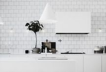 Kitchen - White / White kitchen inspiration & design. / by FLOFORM