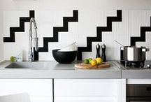 Kitchen - Tile / Kitchen Tile Inspiration. / by FLOFORM
