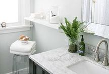 Bathroom - Light / Light and bright bathroom inspiration. / by FLOFORM