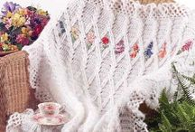 Crochet blankets and Mats / by Lee Anne Bourque