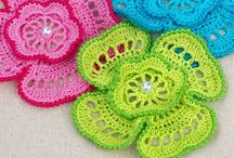 Crochet crafts and flowers / by Lee Anne Bourque