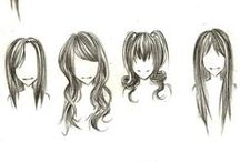 Art: Hair, How To Draw