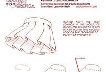Art: Fabrics, Clothes, How to Dsraw / How to draw clothes, fabrics, and folds