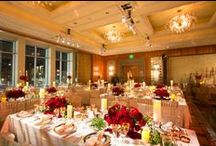 Weddings - Our Portfolio / Suzanne B. Lowell Lighting Design transforms traditional event settings by expertly and intricately weaving together elements of light and color for remarkable impact. The sparkle of decorative ceiling fixtures, the glow of rich backdrops, warm highlights surrounding candlelit centerpieces and theatrically enhanced dance floors lend unparalleled elegance and drama to any event.