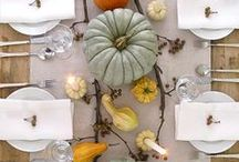 Fall Decor / As the air gets cooler and the leaves change colors, it's time to break out those warm fragrances!