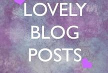 Lovely Blog Posts / Some blogs I've written to help you shine in your blissful life <3