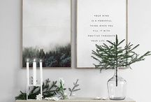 Minimalist Home Decor / Sometimes less is more!