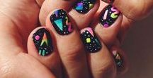 Nail Design / nail tips & tricks, fun manicures and pedicures