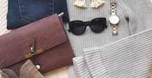 Casual Style / effortless, chic casual style for the girl who likes a simplified look