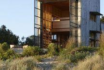 cabins, houses etc