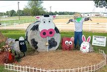 Hay Bale Contest Entries
