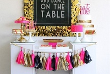 The Bachelorette Party / Its your last girls night out as a single lady, go out with a bang! Here are some sparkling ideas for food, gifts and events that are sure to make your bachelorette party one for the books!