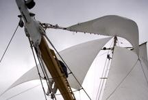 sails / sailing, sailboats / by John Lin