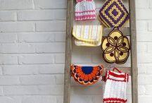 Crochet: Flowers ,Motifs, Grannys, Potholders, etc