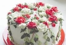Beautiful cakes.