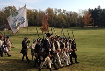 18th Century Market Fair / Always the last full weekend in October.  Soldiers, civilians, entertainers, food, and vendors with merchandise from candy and soap to clothing and furniture relating to the late 1700's.  Funn for the family!