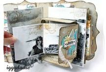 Creative Mini Albums / sharing some beautiful mini album projects i have pinned.