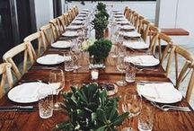 Table Settings / Table Setting Inspiration, Pretty dishes & Cutlery, etc.