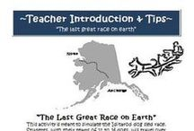 "IDITAROD TEACHING ACTIVITIES AND RESOURCES / Here you will find activities and resources to use in your classroom for ""The Last Great Race on Earth"" -The Iditarod."