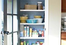 Pantry / A beautiful, organized pantry space