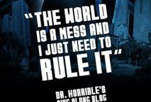 Dr. Horrible's Sing Along Blog / All things Dr. Horrible <3