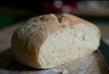 recipes....bread / man can not live by bread alone.... but it makes the journey nicer...