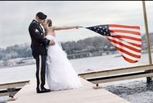 A Patriotic Wedding / Americana wedding inspiration for Memorial Day and Fourth of July weddings!