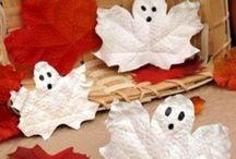 Halloween Crafts & Activities / Things to make, bake and create around Halloween. http://spirited-mama.com/