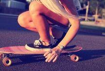 skateboarding / by le dezign