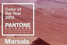 Wine-red marsala: Colour of the year 2015
