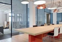 office design / Headquarters, offices and meeting rooms decoration ideas.  Environmental design. Retail design.