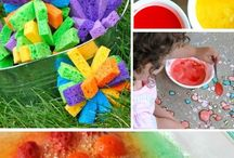 Summer Crafts & Activities / Things to make and do with a summer theme. http://spirited-mama.com/