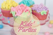 Kids' Parties / Ideas for themed kids' parties. Cakes, food and activities.