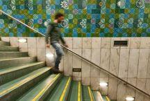 Metro Station Art in Lisbon